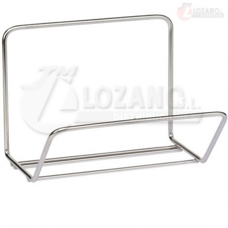 Estante de acero inox. de 200x135 mm.