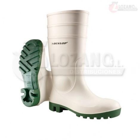 Botas Blancas Dunlop Protomastor con puntera acero