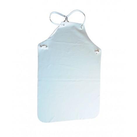 Delantal Impermeable Fuerte Blanco Fleta 1.20