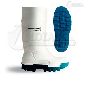 Botas Blancas Dunlop Purofort Thermo Full Safety S5
