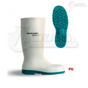Botas de Agua Blancas Dunlop Acifort Classic Puntera Acero