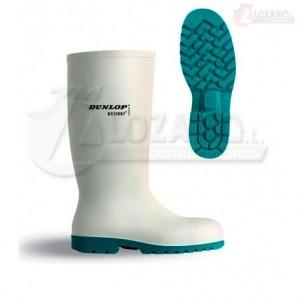 Botas de Agua Blancas Dunlop Acifort Classic Sin Puntera