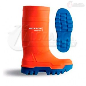 Botas Naranjas Dunlop Purofort Thermo Full Safety S5