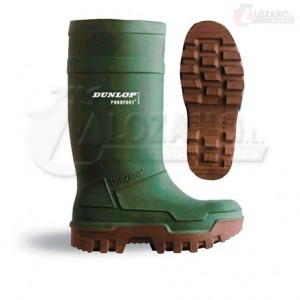 Botas Verdes Dunlop Purofort Thermo Full Safety S5