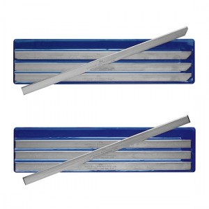 Cuchillas para descortezadoras/desveladora automáticas ancho 20 mm grueso 1 mm.