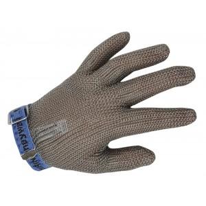 Guante malla anticorte. Chainex 2000 5 dedos correa textil