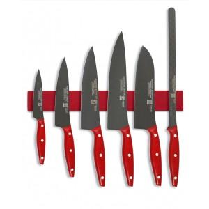 Juego de cuchillos Martínez y Gascón Rojo