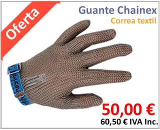 Oferta de guantes de malla anticorte