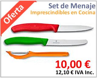 Oferta de set menaje de cocina Victorinox